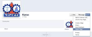 cómo fusionar dos páginas de Facebook