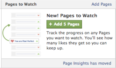 Seguir páginas en facebook - Pages to watch